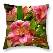 Beautiful Floral  Throw Pillow
