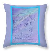 Beautiful Framed Throw Pillow