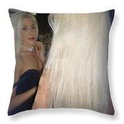 Beautiful Hair Throw Pillow