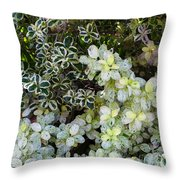 Beautiful Leaves Throw Pillow