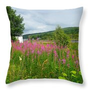 Beautiful Lochaline Landscape Throw Pillow