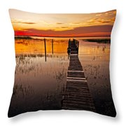 Beautiful Morning Throw Pillow