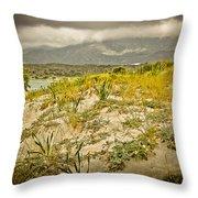 Beautiful Nature Of Elafonisi Throw Pillow
