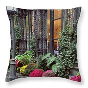 Beautiful Outside Cozy Inside Throw Pillow