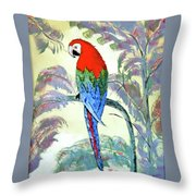 Beautiful Parrot For Someone Special Throw Pillow