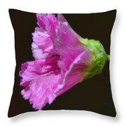 Beautiful Purple Flower Throw Pillow