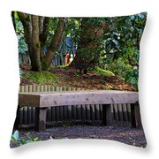 Beautiful Respite Throw Pillow