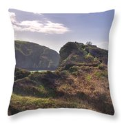 Beautiful  Sark One Of The  Channel Islands Throw Pillow