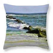 Beautiful Sea Throw Pillow