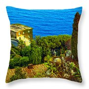 Beautiful Sicily Throw Pillow
