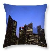 Beautiful Singapore Throw Pillow