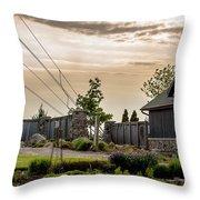 Beautiful Sky Throw Pillow