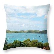 Beautiful St Thomas Throw Pillow