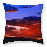 Beautiful Sunrise In Boise Throw Pillow