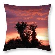 Beautiful Sunset In Arizona Throw Pillow