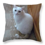 Beautiful Tail Throw Pillow