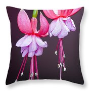 Beautiful Two Throw Pillow