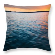 Beautiful Waters Throw Pillow