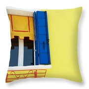 Beautiful Window Throw Pillow