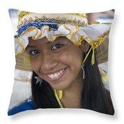 Beautiful Women Of Brazil 11 Throw Pillow