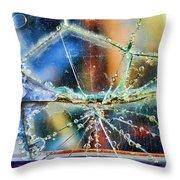 Beautifully Broken Framed Throw Pillow