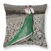 Beauty Among The Dead Throw Pillow
