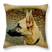 Beauty And Brains Throw Pillow