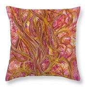 Beauty And Imperfection Throw Pillow by Kelly K H B