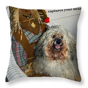 Beauty And Personality Throw Pillow