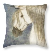 Beauty And Strength1 Throw Pillow