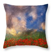 Beauty And The Beast Of Nature Throw Pillow