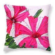 Beauty And The Fly Throw Pillow