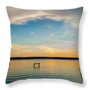 Beauty At Sundown Throw Pillow
