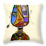 Beauty Beneath Two Throw Pillow