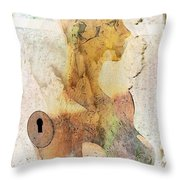 Beauty Contained Throw Pillow