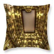 Beauty From Within  Throw Pillow