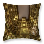 Beauty From Within The Other Side Throw Pillow