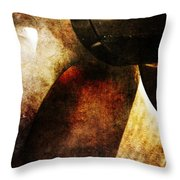 Beauty In A Spin Throw Pillow