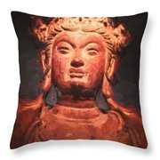 Beauty In Clay Throw Pillow