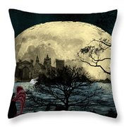 Beauty In Darkness Throw Pillow