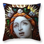 Beauty In Glass Throw Pillow