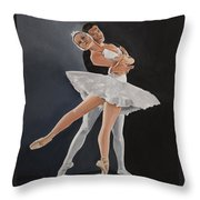 Beauty In Motion Throw Pillow