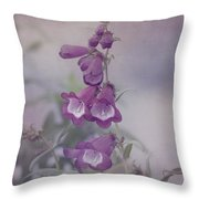 Beauty In Purple Throw Pillow