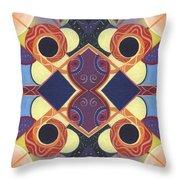 Beauty In Symmetry 1 - The Joy Of Design X X Arrangement Throw Pillow