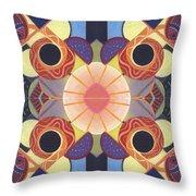 Beauty In Symmetry 4 - The Joy Of Design X X Arrangement Throw Pillow