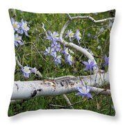 Beauty In The Wild Throw Pillow