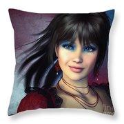 Beauty Is But Skin-deep Throw Pillow