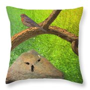 Beauty Is In The Belief Of The Beholder Throw Pillow