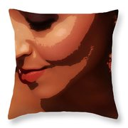 Beauty - Ladies - Poster Throw Pillow