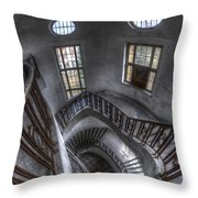 Beauty Looking Down Throw Pillow